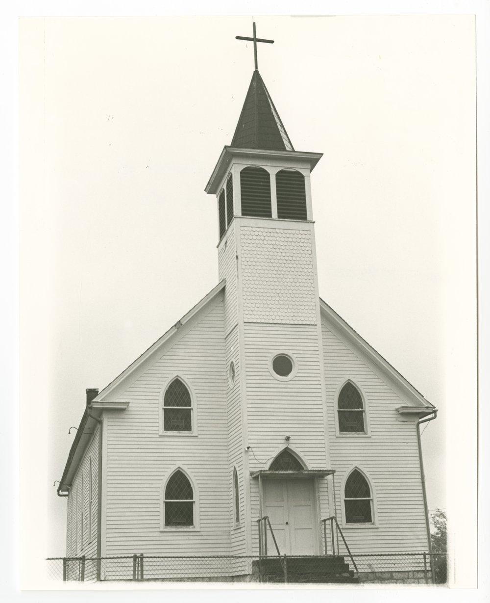 Catholic church in Big Springs, Kansas - 1