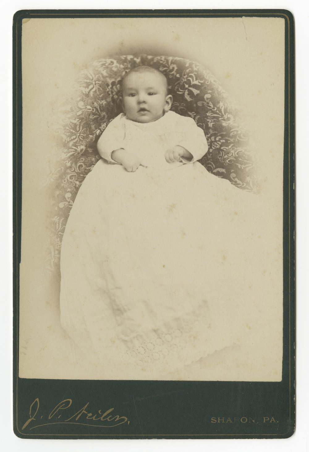 Alfred M. Landon as an infant