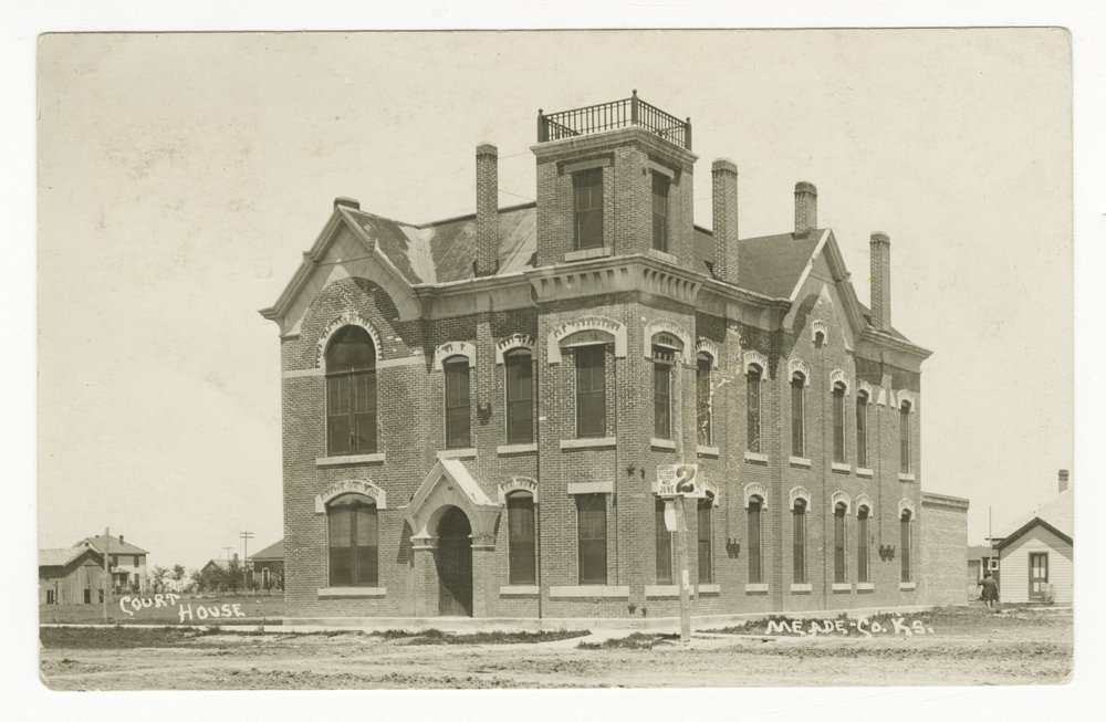 Courthouse in Meade County, Kansas - 1
