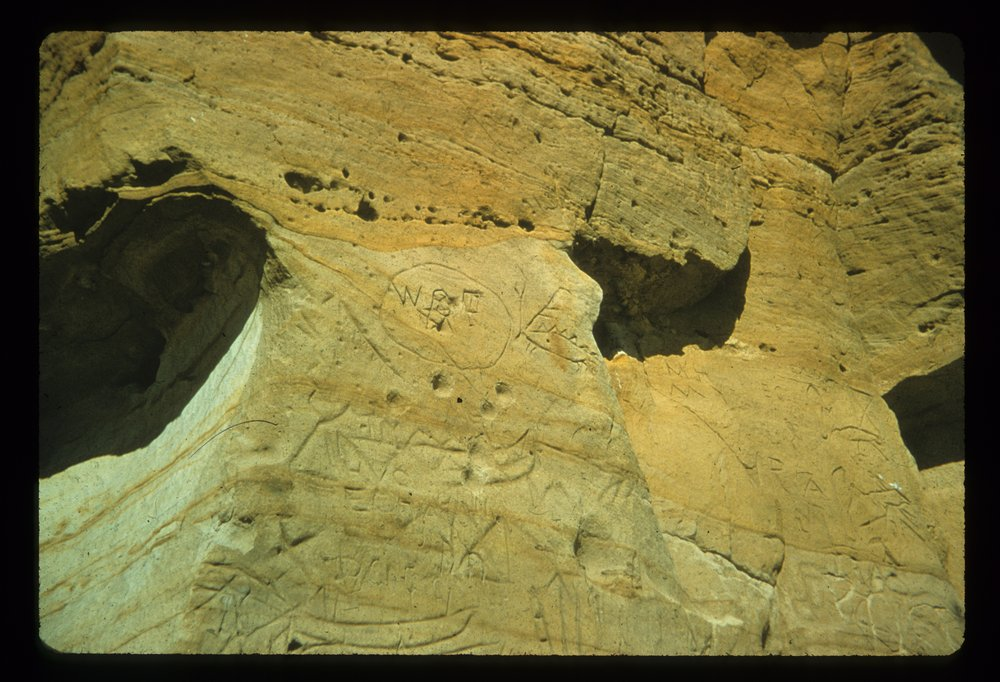 Petroglyphs from the Indian Hill Site, 14EW1 - 2