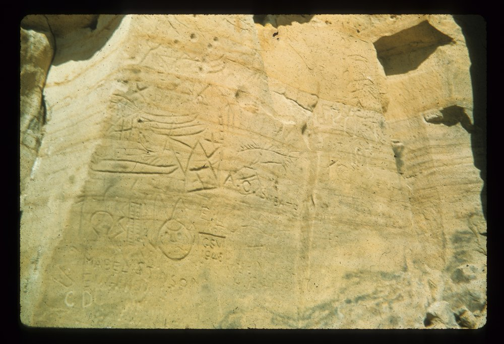 Petroglyphs from the Indian Hill Site, 14EW1 - 3
