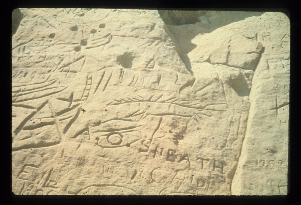 Petroglyphs from the Indian Hill Site, 14EW1 - 4