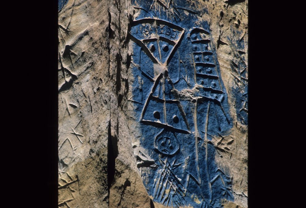 Petroglyphs from the Indian Hill Site, 14EW1 - 7
