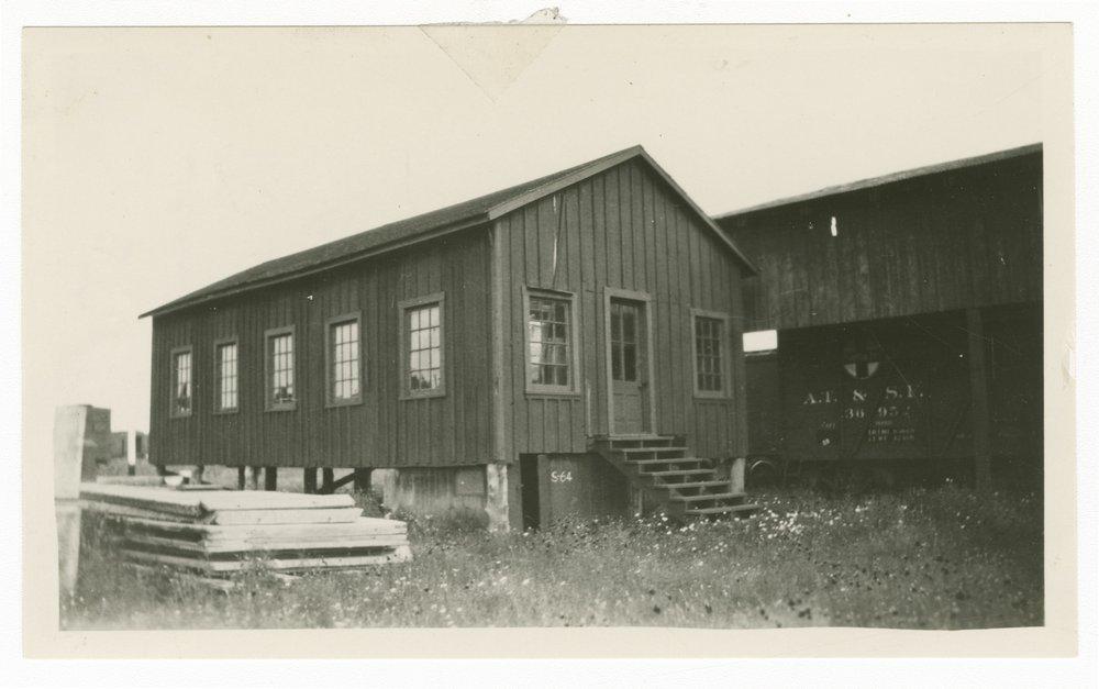 Atchison, Topeka & Santa Fe Railway Company's record building, Temple, Texas - 1
