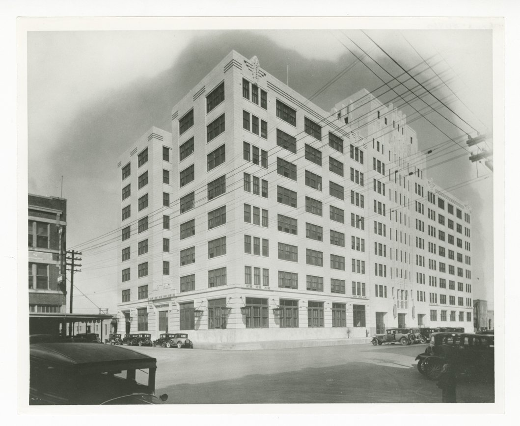 Atchison, Topeka & Santa Fe Railway Company's general office building, Galveston, Texas - 1