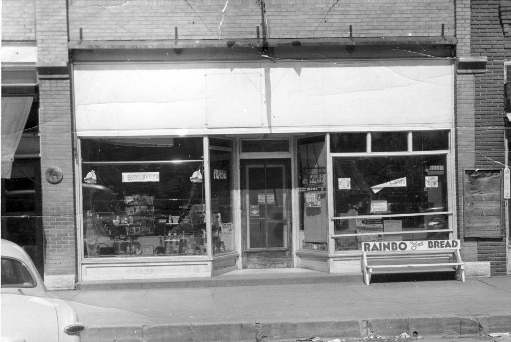 Preston Dunn drug store in Eskridge, Kansas - 2