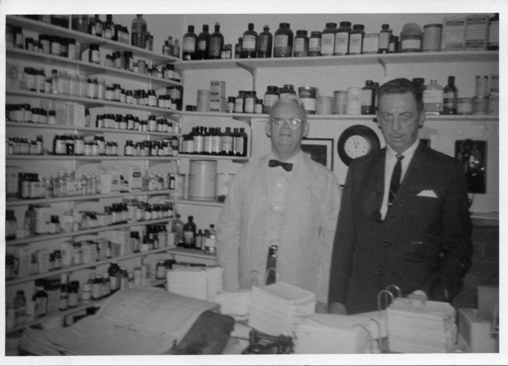 Preston Dunn drug store in Eskridge, Kansas - 4