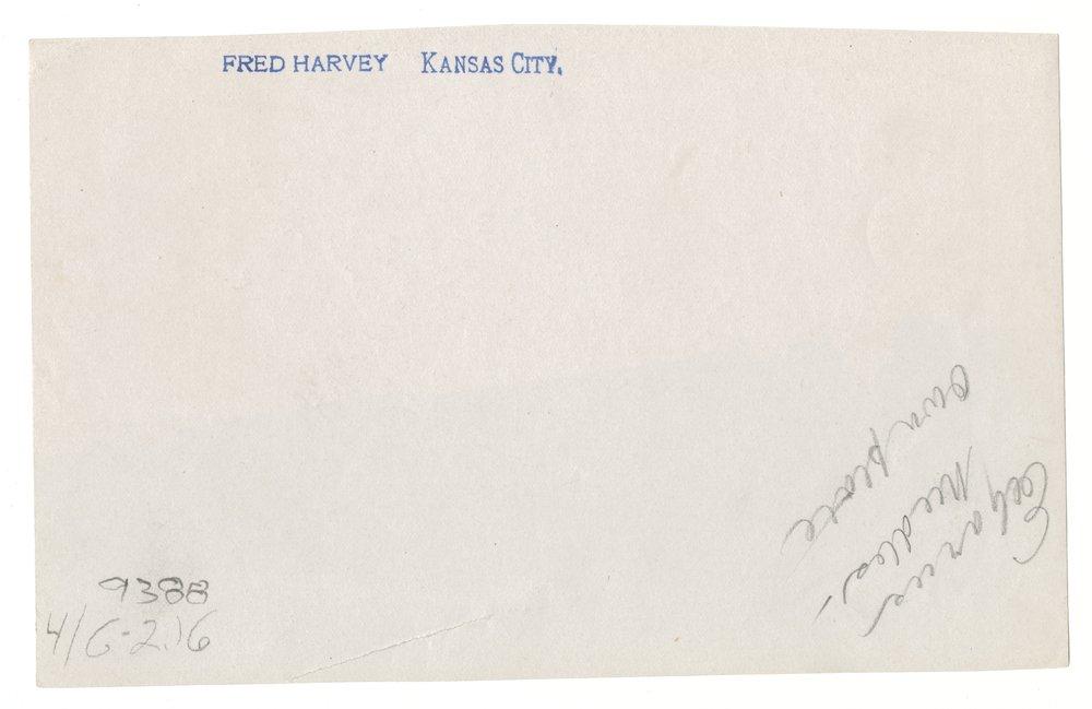 Atchison, Topeka and Santa Fe Railway Company depot, Fred Harvey House and El Garces Hotel - 2