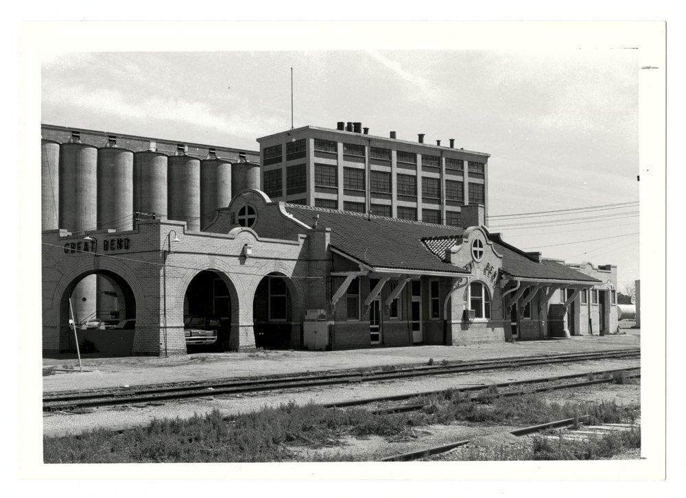 Atchison, Topeka and Santa Fe Railway Company depot, Great Bend, Kansas - 1