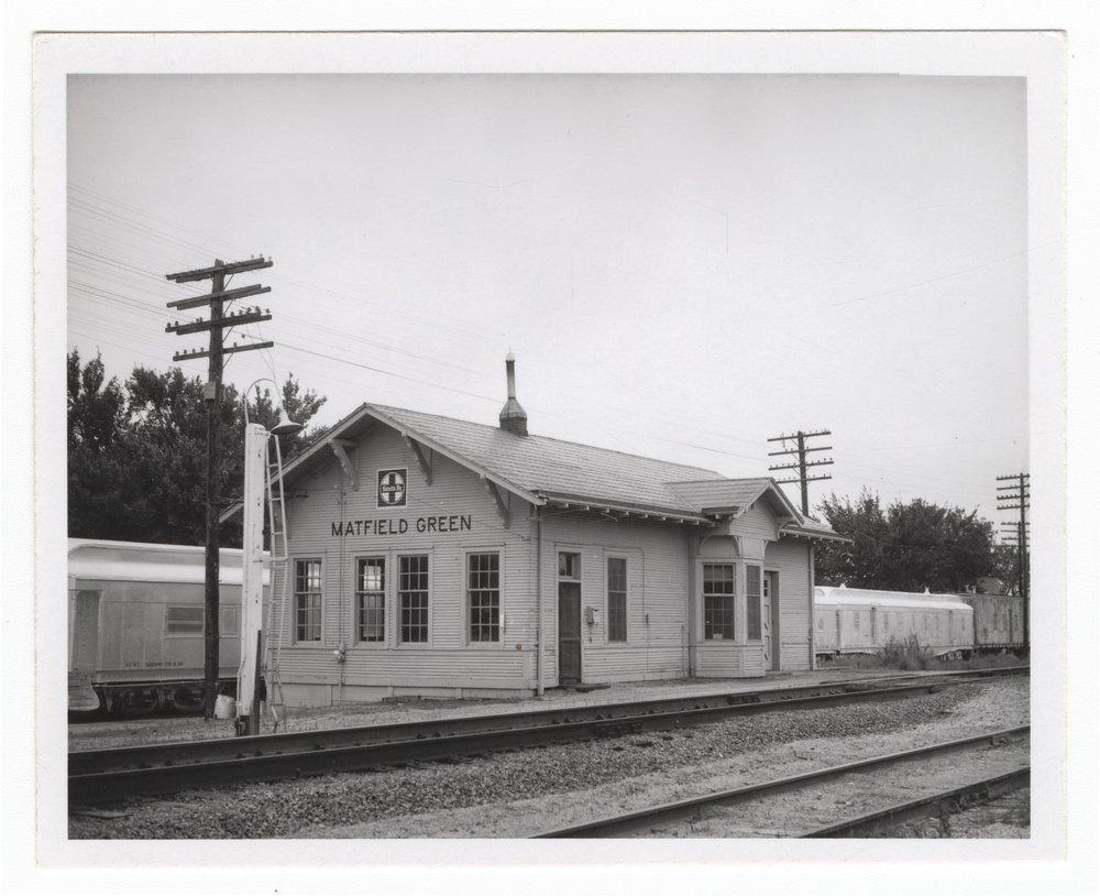 Atchison, Topeka and Santa Fe Railway Company depot, Matfield Green, Kansas - 1