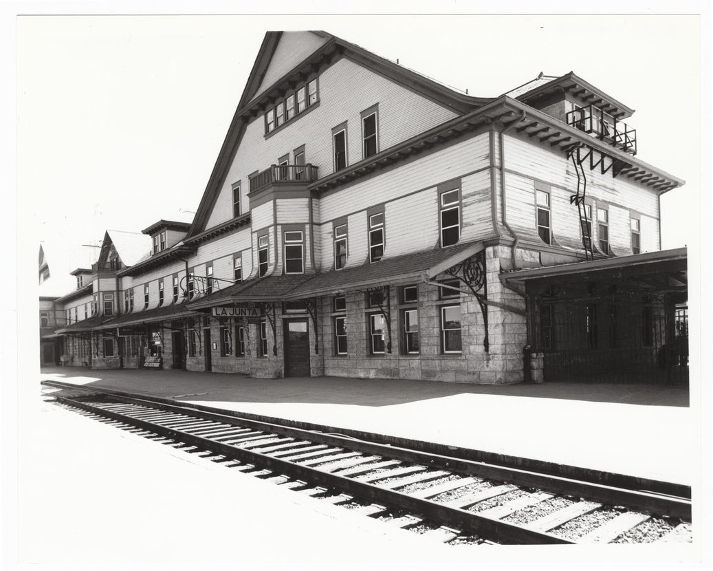 Atchison Topeka Santa Fe Railway Company Depot Fred Harvey House And El Otero Hotel La Junta Colorado