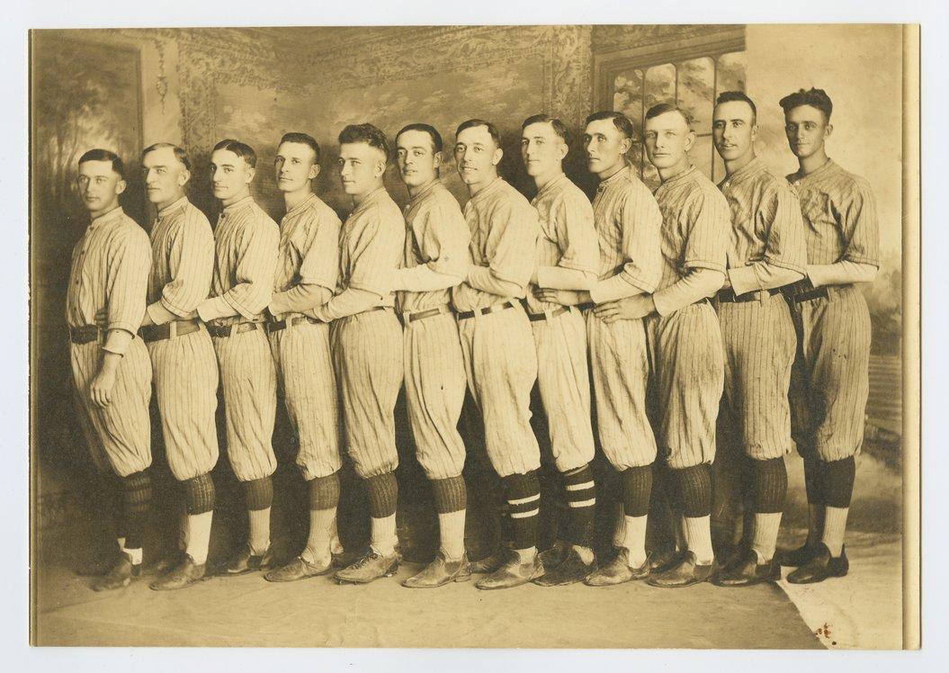 Baseball team in Beloit, Kansas