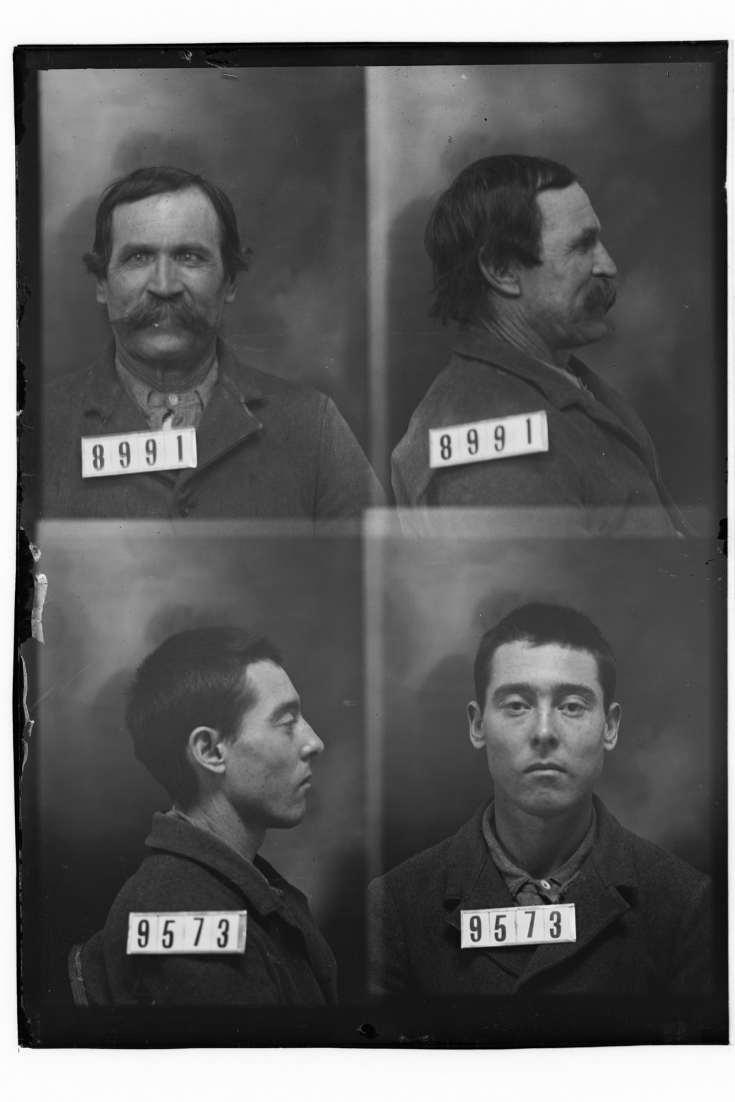 Cecil Moreland and Thomas Green, prisoners 9573 and 8991