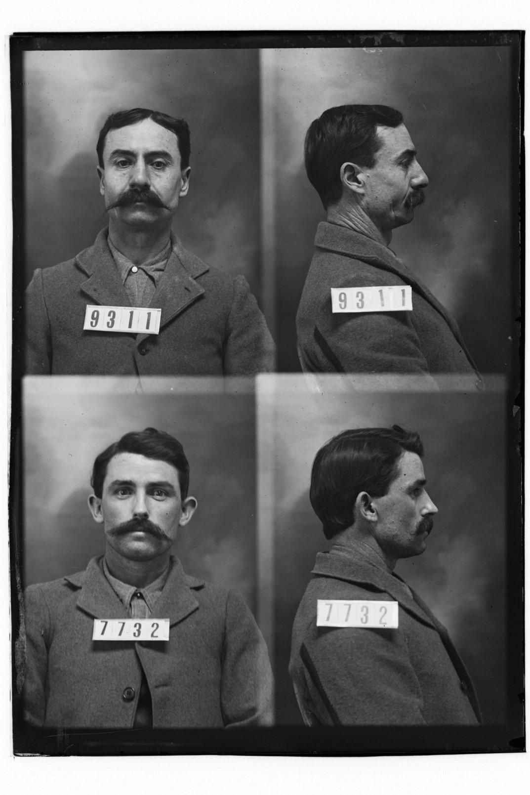 A. J. Stinnett and George Stevens, prisoners 9311 and 7732