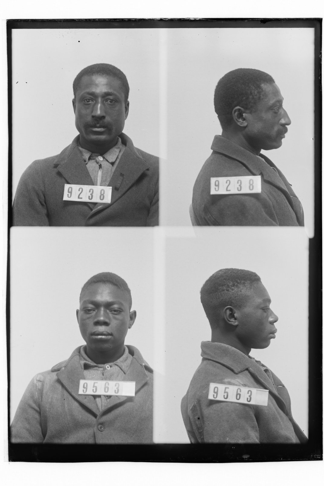 Dudley Payne and Pomp Childs, prisoners 9238 and 9563