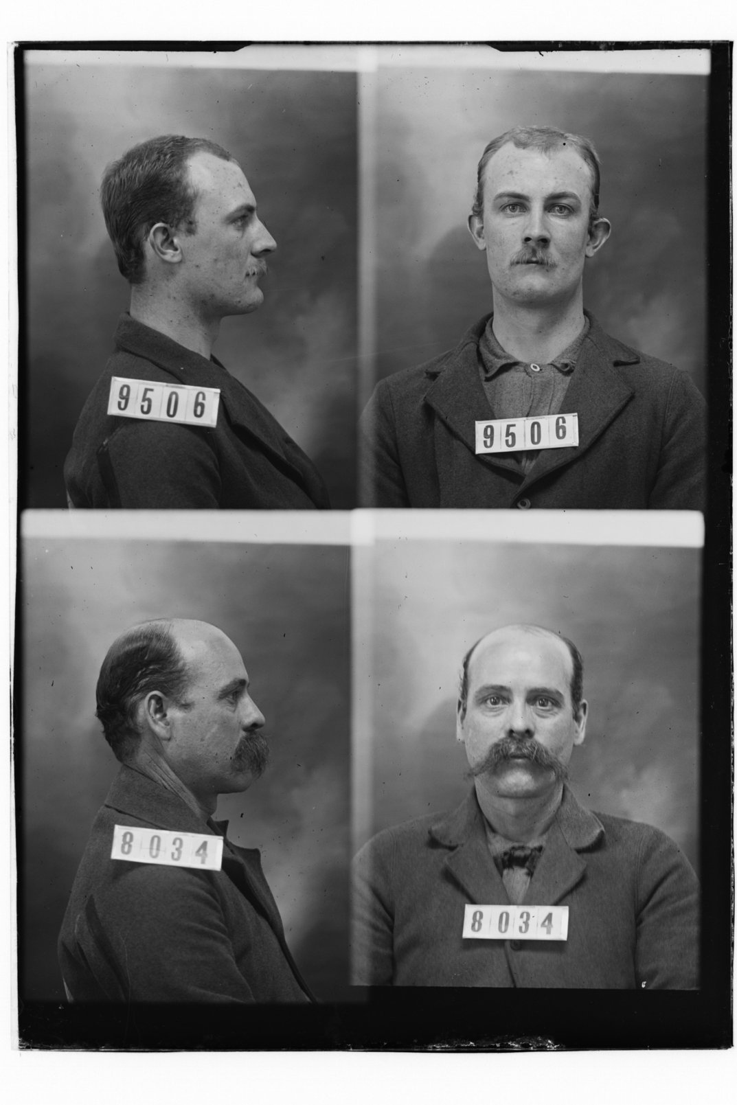 Albert Williams and William Fay, prisoners 9506 and 8034