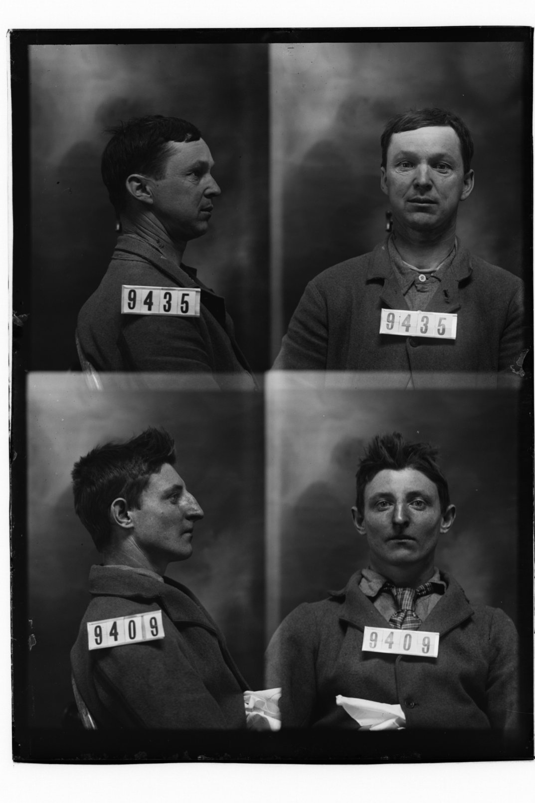 Andrew Mitchler and Thomas Finch, prisoners 9435 and 9409