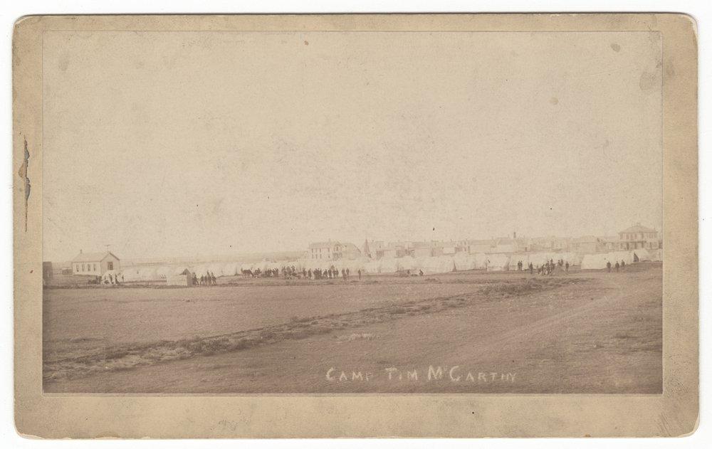 Camp of the 2nd Regiment, Kansas National Guard near Hugoton, Stevens County, Kansas - 1