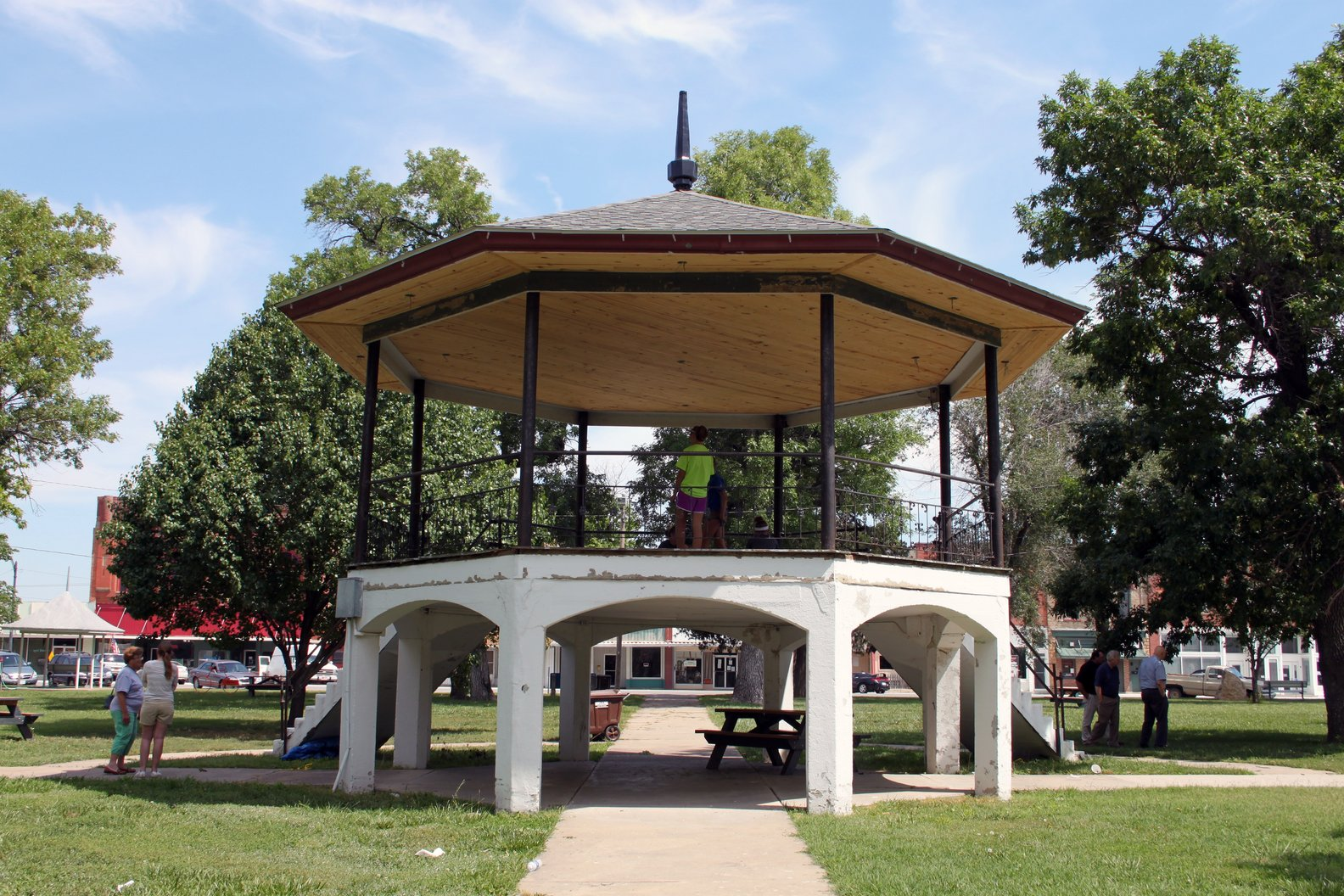 City Square Park Bandstand - 2