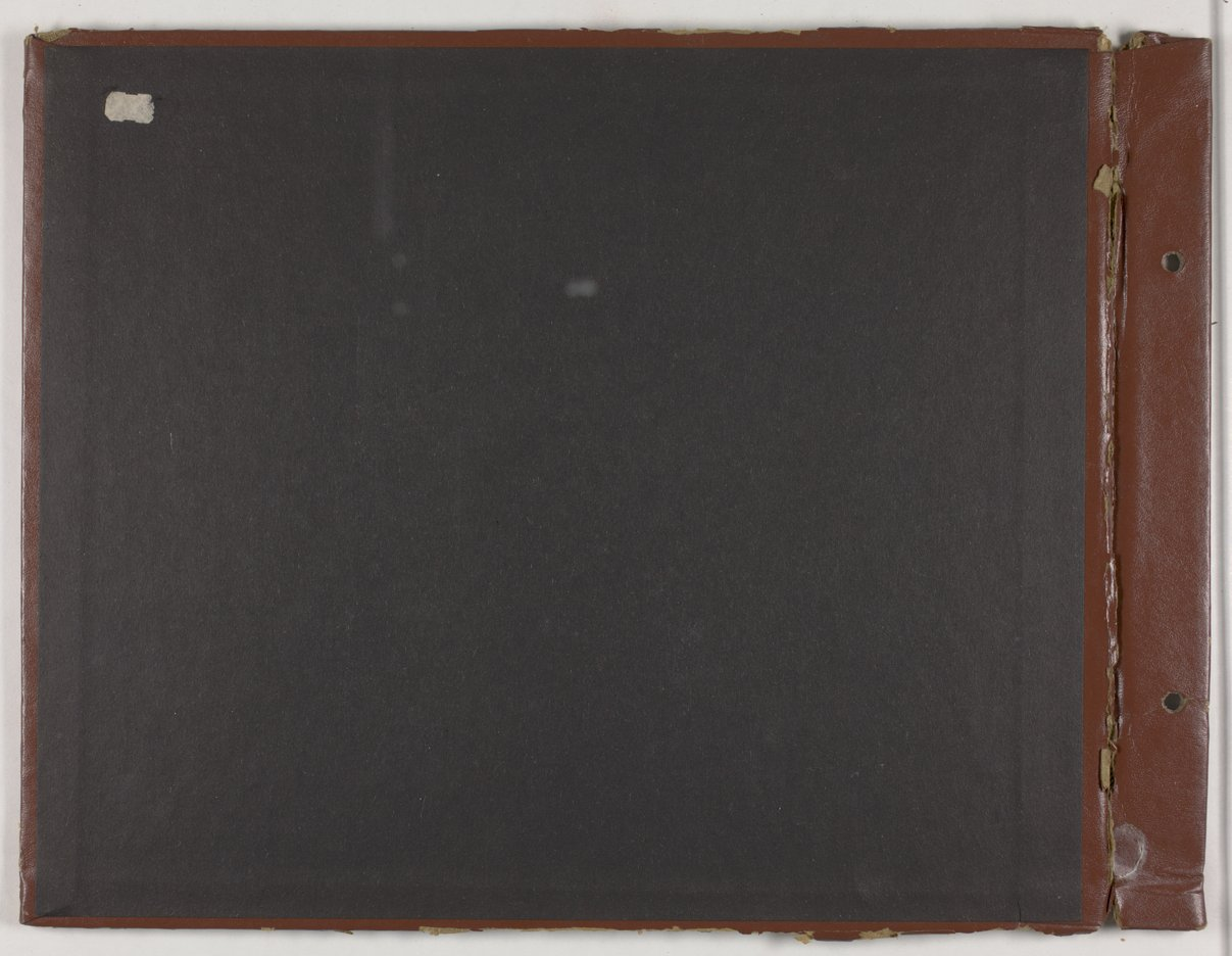 James Asbury Power, Jr.'s World War II photograph album - Inside cover