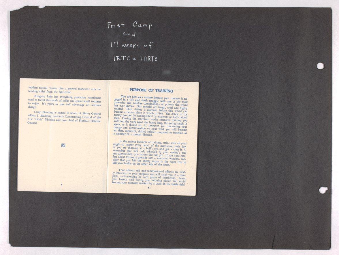 James Asbury Power, Jr.'s World War II photograph album - 4-5