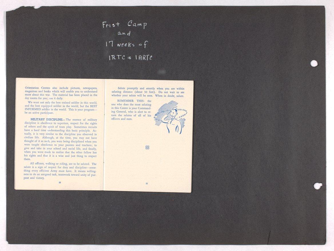 James Asbury Power, Jr.'s World War II photograph album - 10-11