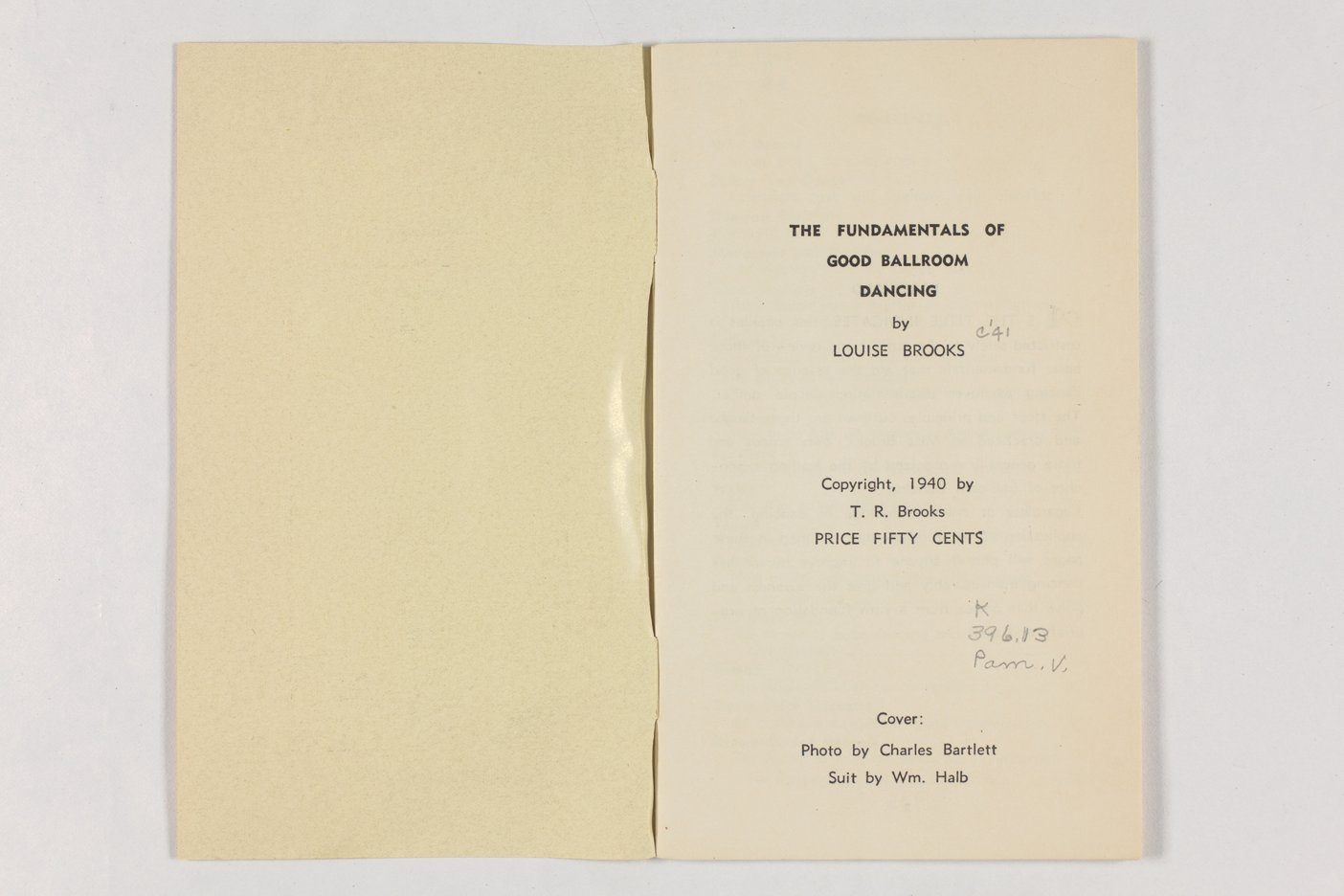 The fundamentals of good ballroom dancing - Blank page-1
