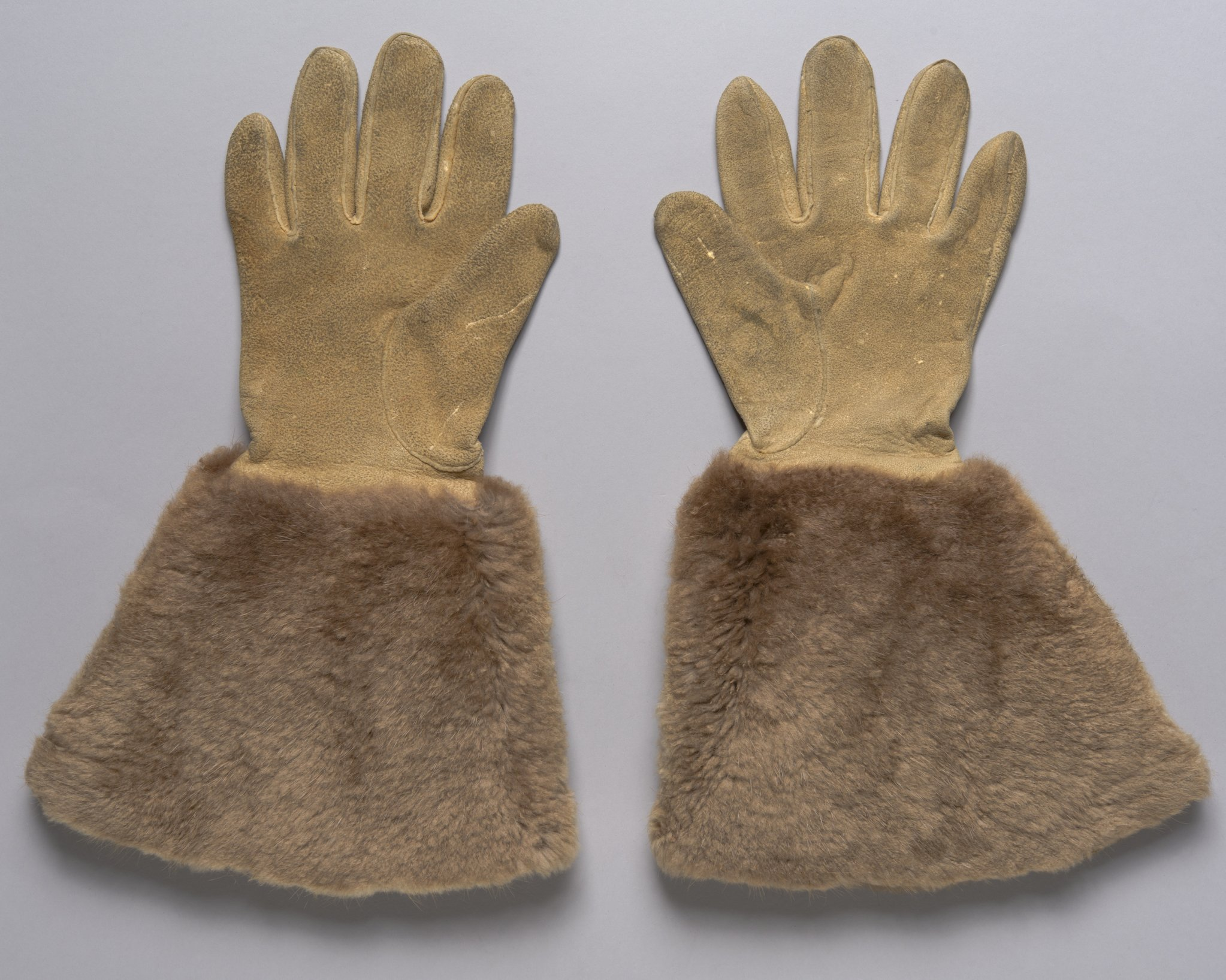 Buckskin Gloves - 2