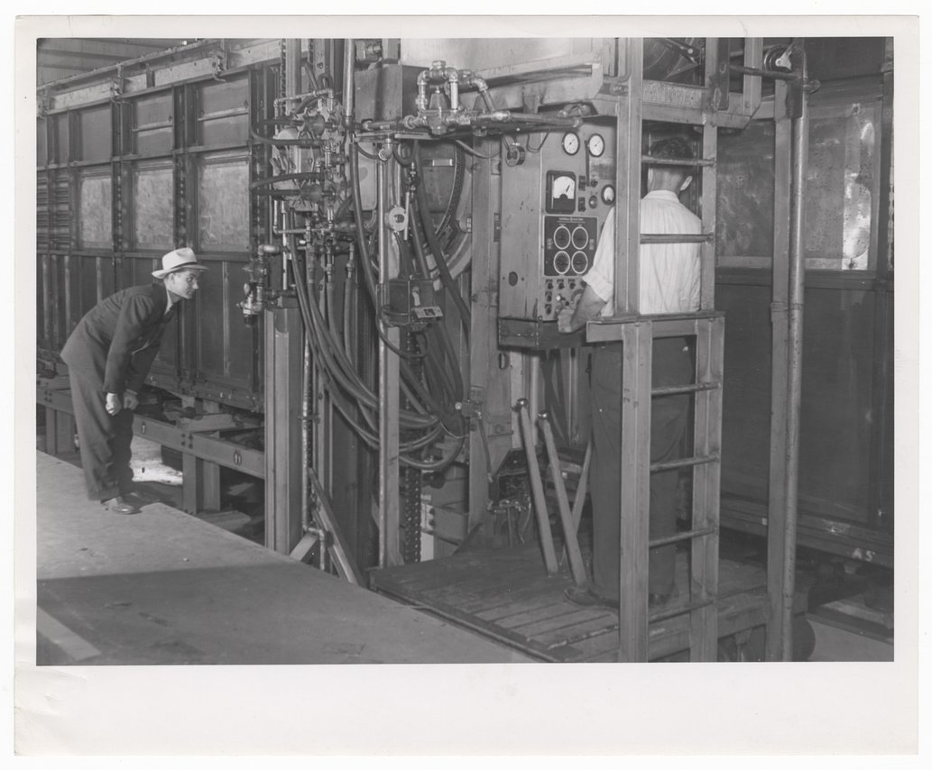Atchison, Topeka and Santa Fe Railway Company's backshop, Argentine, Kansas - 1