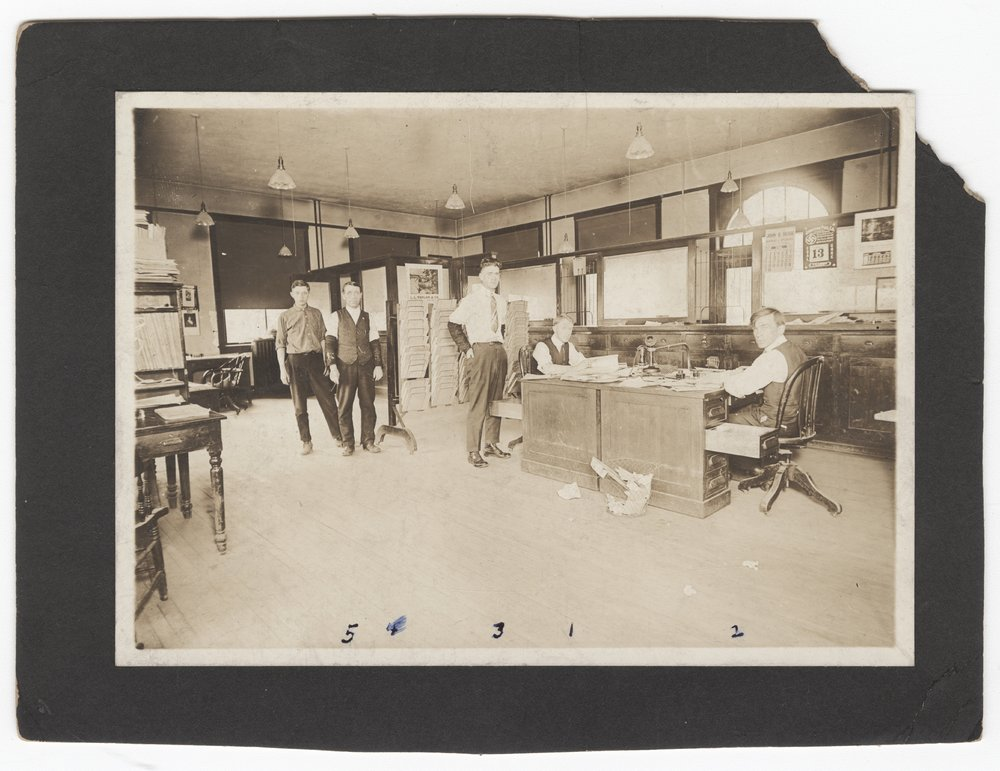 Atchison, Topeka & Santa Fe Railway Company's freight office, Dodge City, Kansas - 1