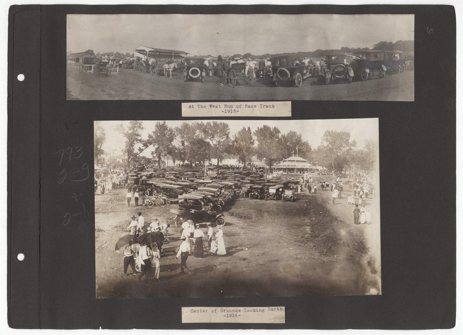 Kansas Free Fair album - 1915-1914