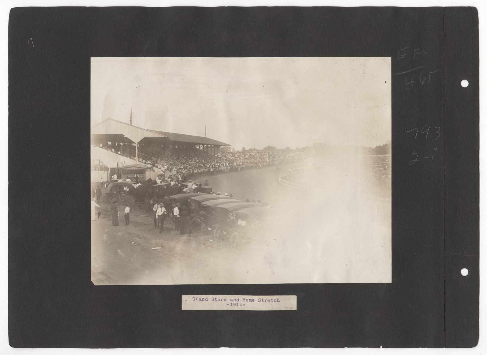 Kansas Free Fair album - 1914