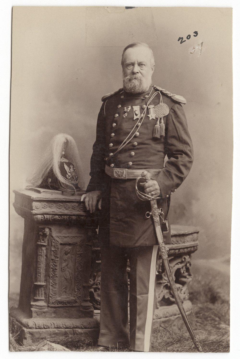 Major Henry Douglass