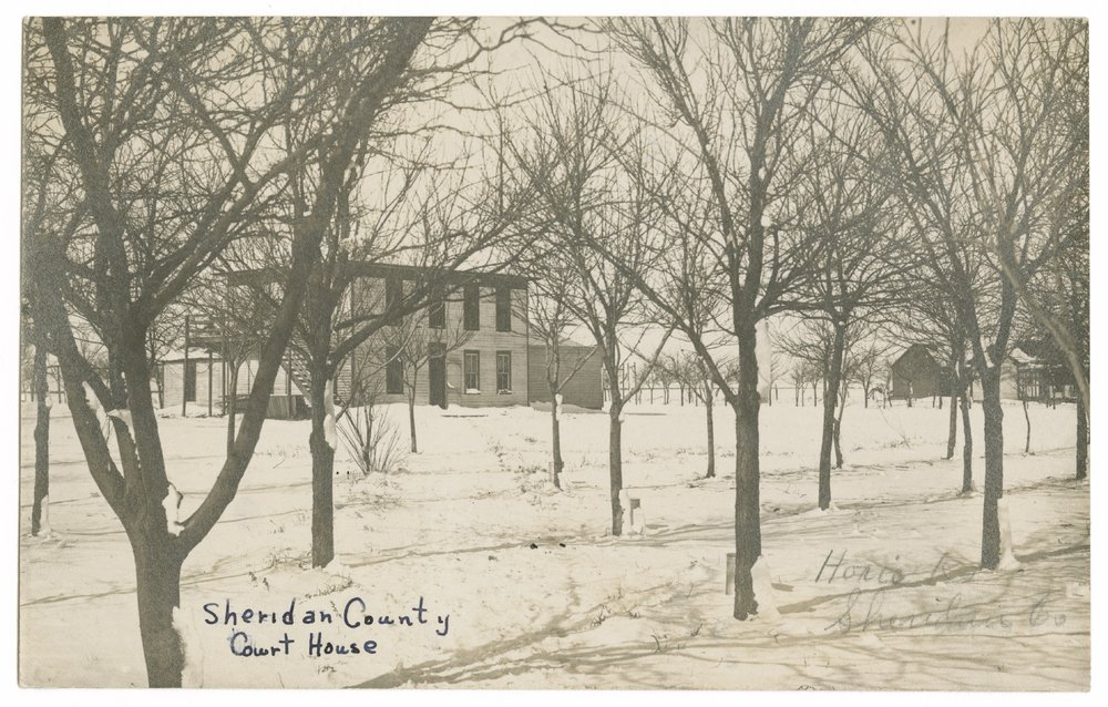 Court house, Sheridan County, Kansas - 6