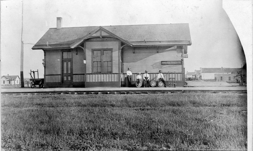 Union Pacific Railroad Company depot, Penokee, Kansas