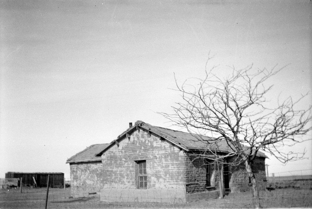 Phillips-Tufts sod house near Ruleton, Sherman County, Kansas