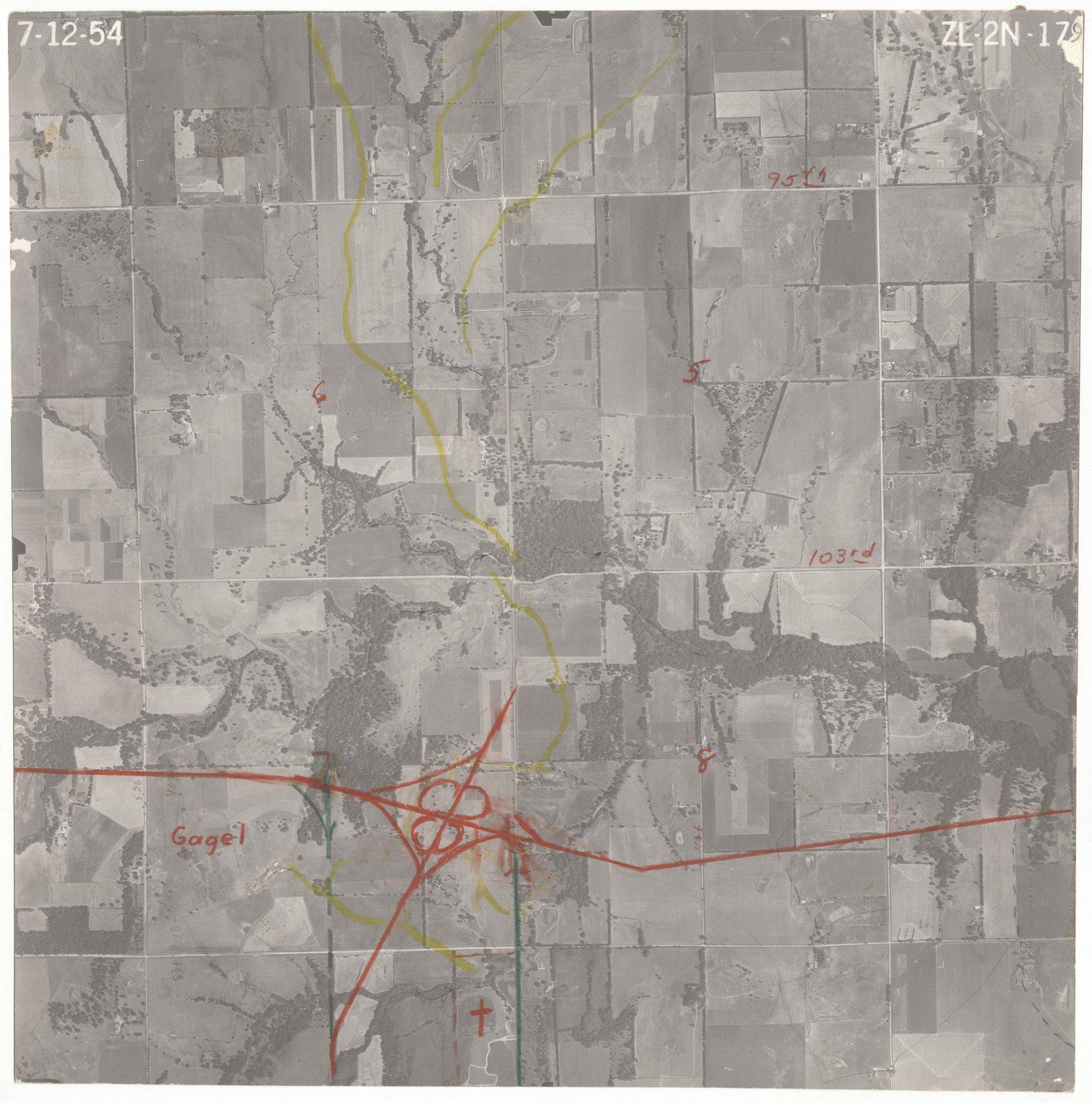 Aerial View of Johnson County, Kansas - 1