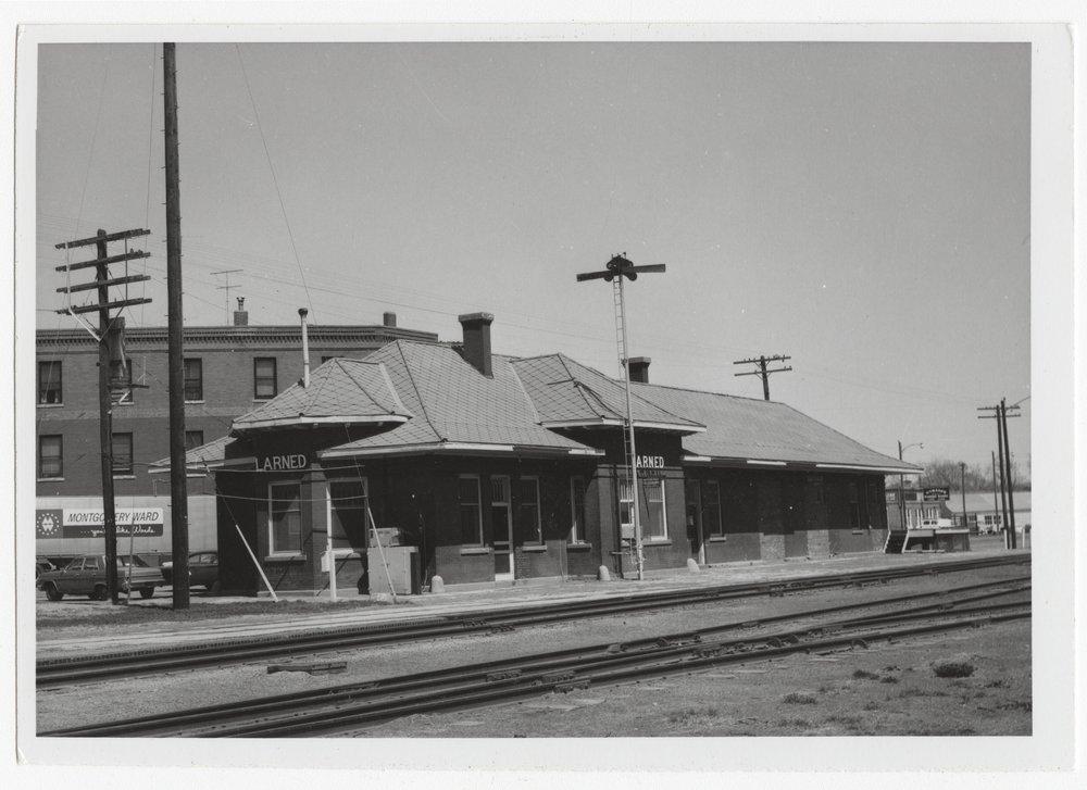 Atchison Topeka and Santa Fe Railway Company depot, Larned, Kansas - 1