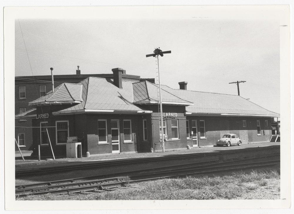 Atchison Topeka and Santa Fe Railway Company depot, Larned, Kansas - 3