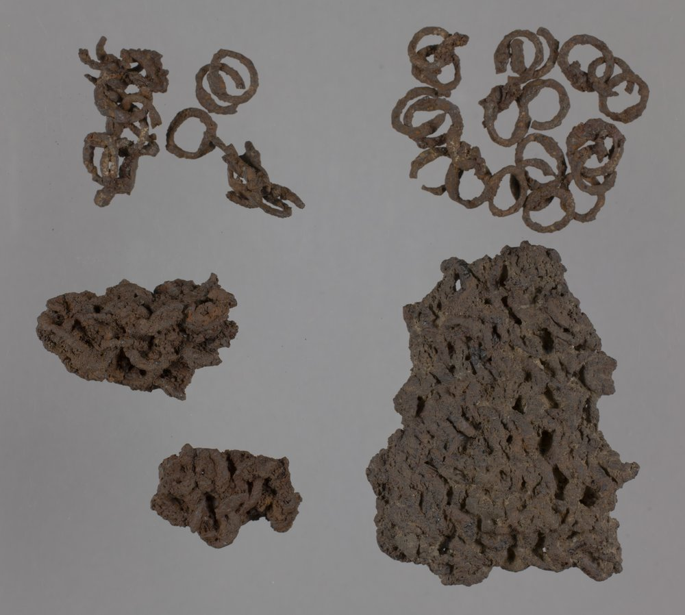 Chain Mail from the Saxman Site, 14RC301 - 1