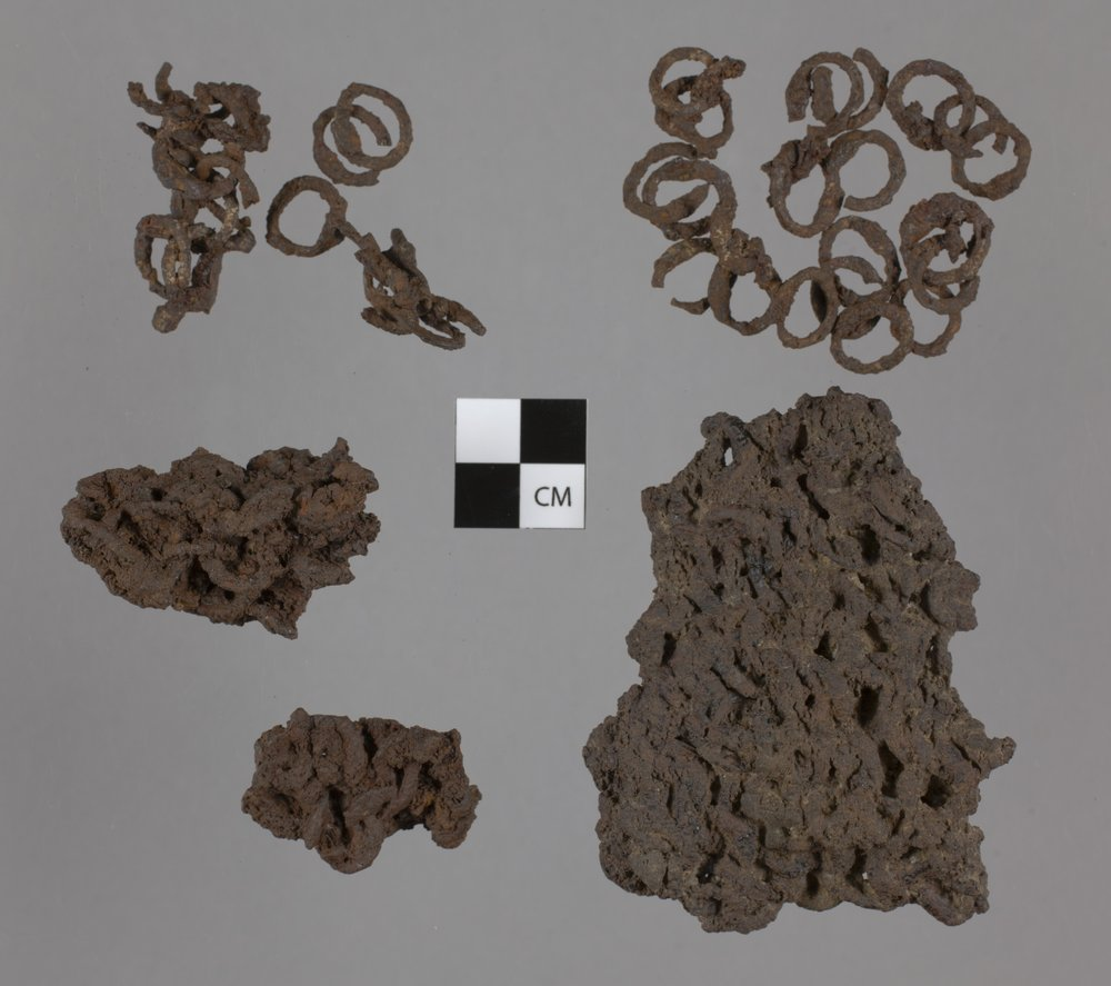 Chain Mail from the Saxman Site, 14RC301 - 2