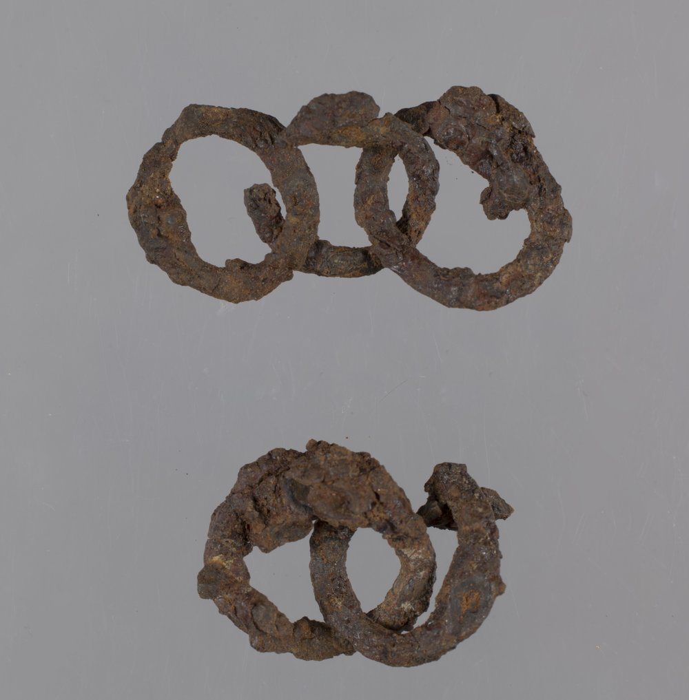 Chain Mail from the Saxman Site, 14RC301 - 3