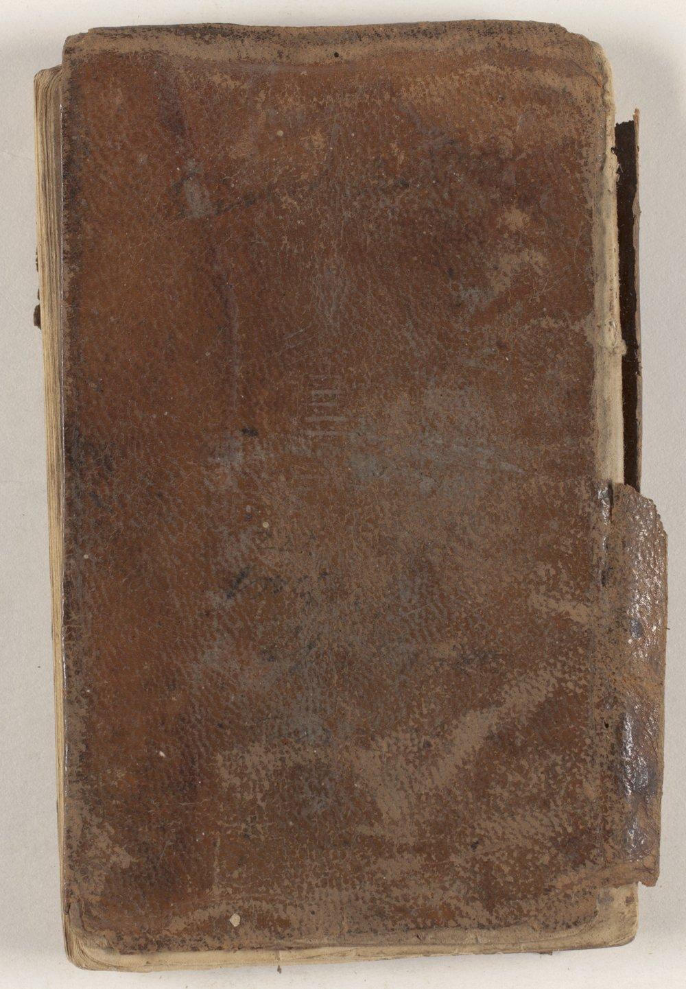 James McBride Gaston collection - Back cover
