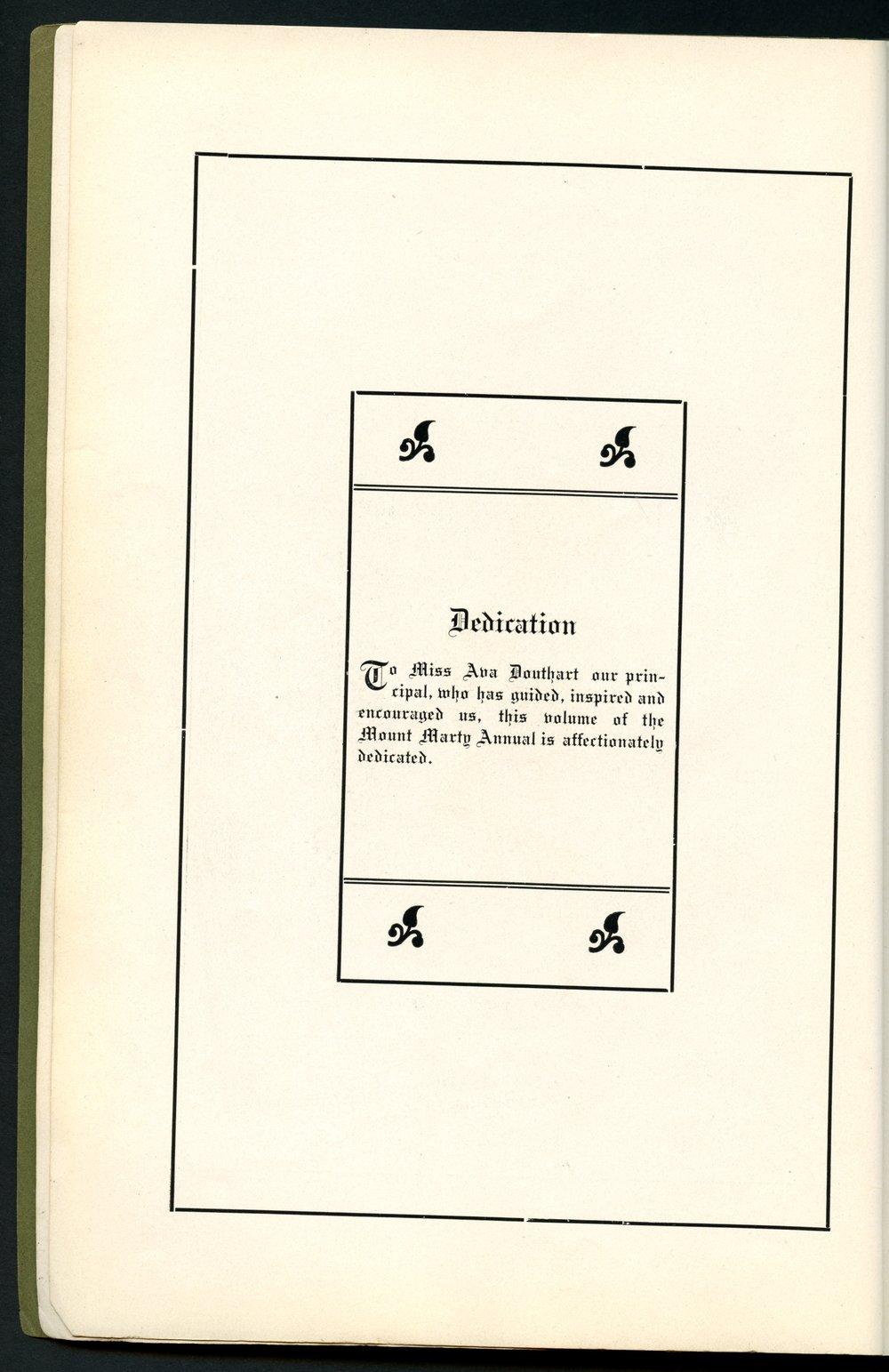 Mount Marty yearbook, 1910, Rosedale, Kansas - 4