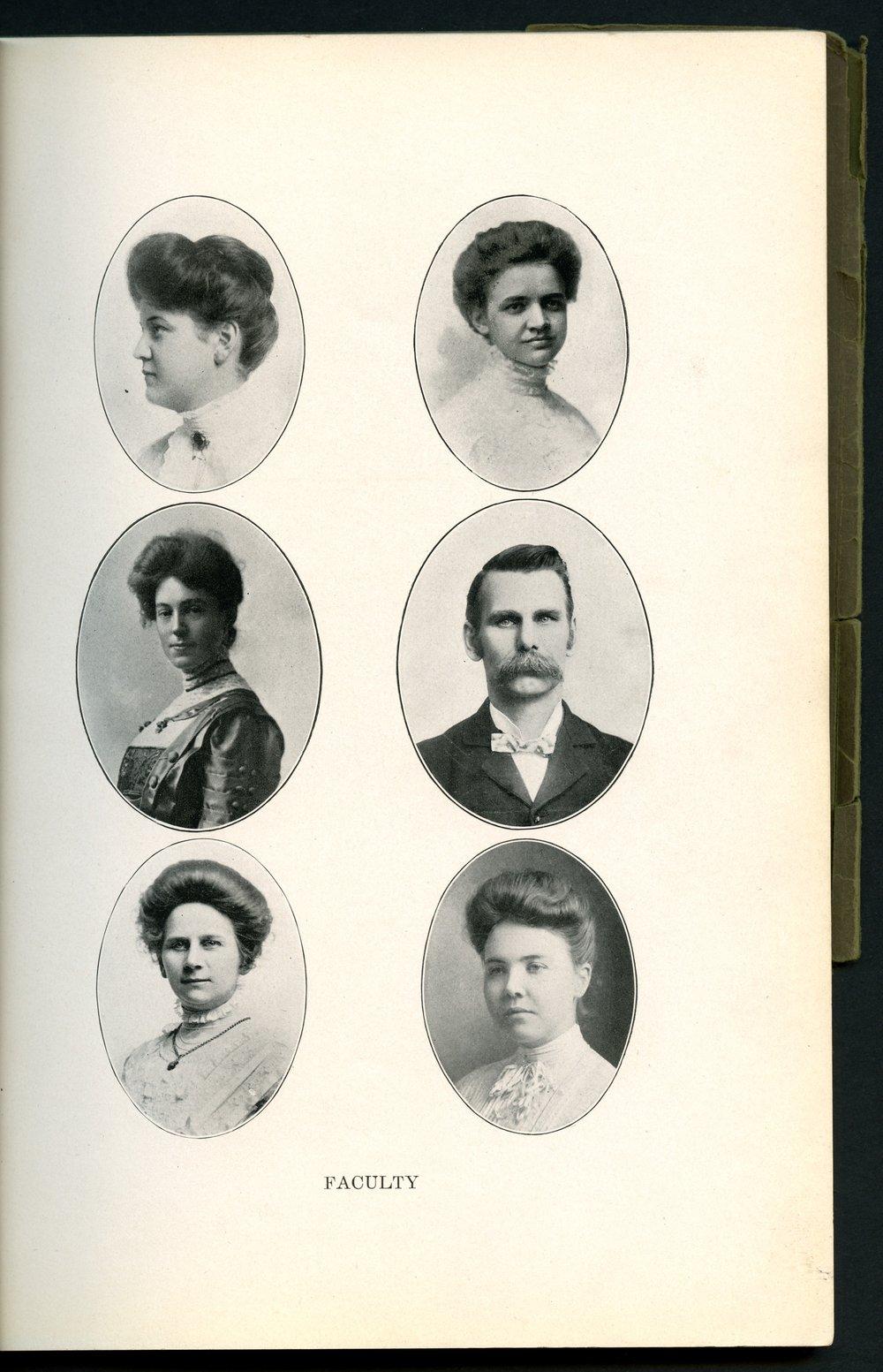 Mount Marty yearbook, 1910, Rosedale, Kansas - 9