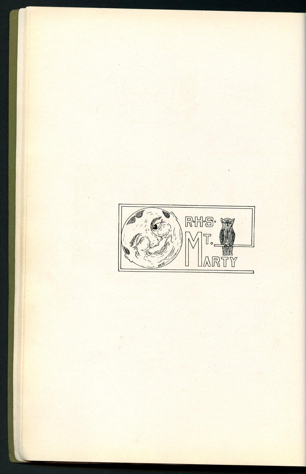 Mount Marty yearbook, 1910, Rosedale, Kansas - 10