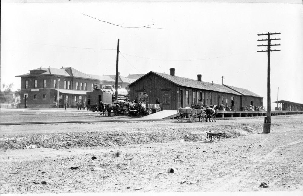Atchison, Topeka and Santa Fe Railway Company depots, Dodge City, Kansas