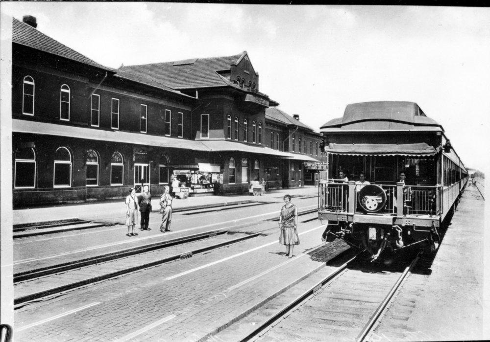 Atchison, Topeka and Santa Fe Railway Company depot, Dodge City,Kansas