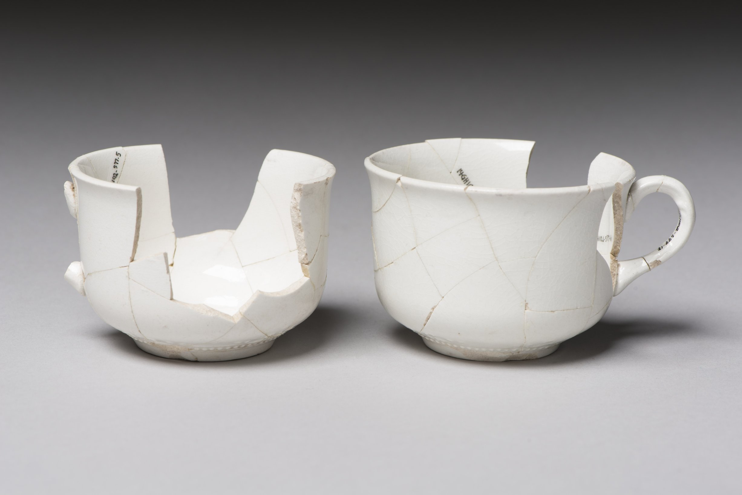Coffee Cups from the Thomas Johnson/Henry Williams Dugout Site, 14GH102 - 1
