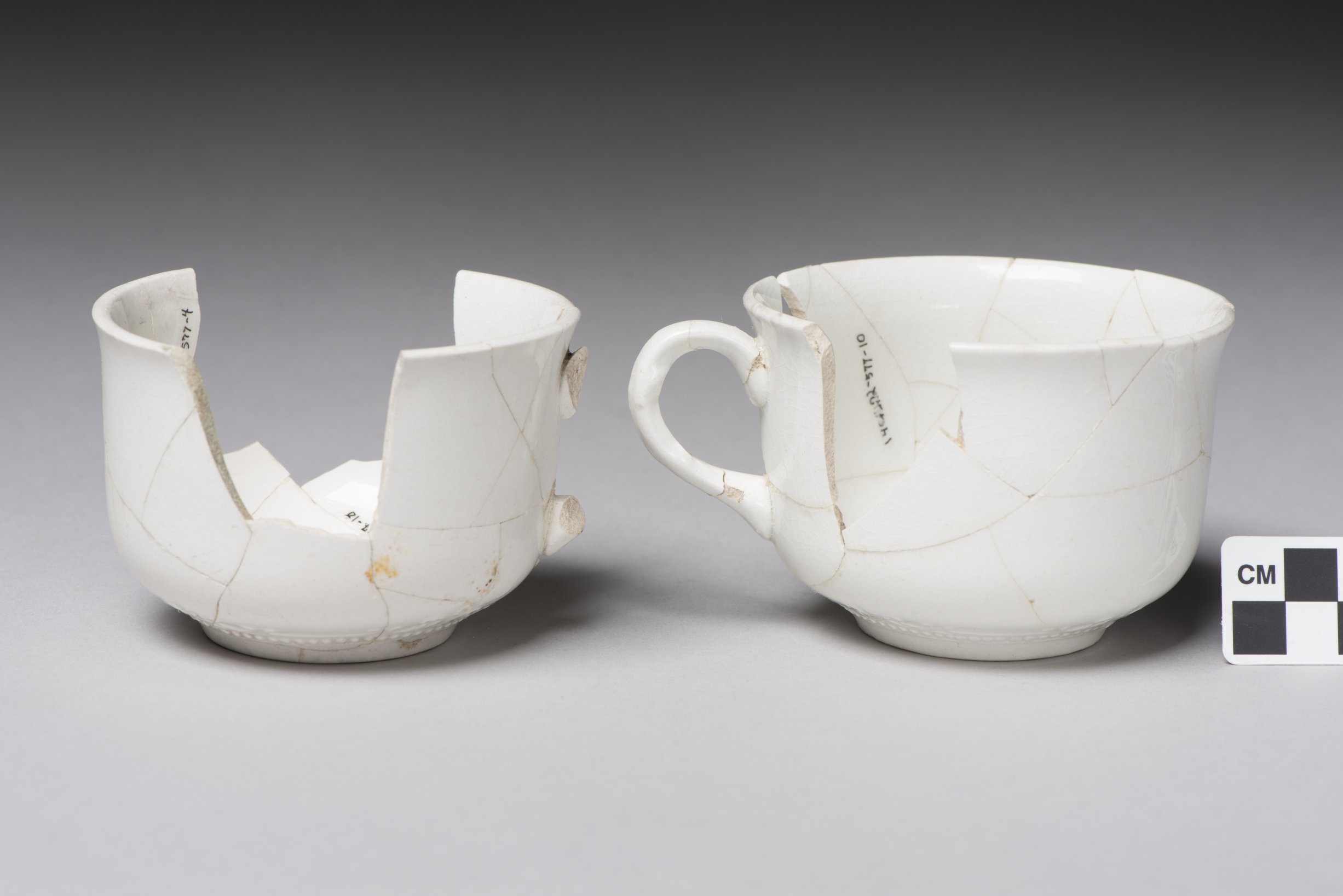 Coffee Cups from the Thomas Johnson/Henry Williams Dugout Site, 14GH102 - 3